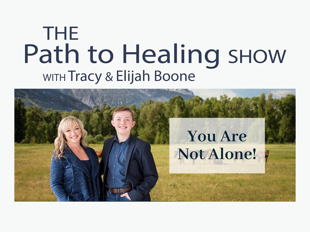 The Path To Healing Show